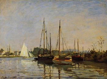 Claude Oscar Monet : Pleasure Boats