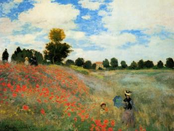 Claude Oscar Monet : Poppies