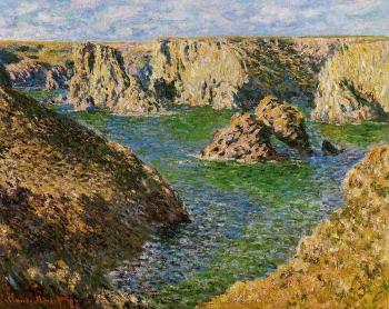 Claude Oscar Monet : Port Donnant, Belle-Ile