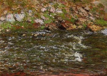 Claude Oscar Monet : Rapids on the Petite Creuse at Freeselines
