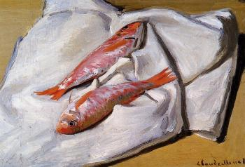 Claude Oscar Monet : Red Mullets
