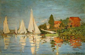 Claude Oscar Monet : Regatta at Argenteuil II