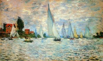 Claude Oscar Monet : Regatta at Argenteuil III