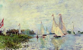 Claude Oscar Monet : Regatta at Argenteuil IV