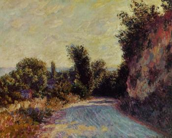 Claude Oscar Monet : Road near Giverny