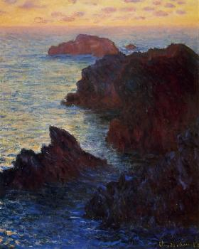 Claude Oscar Monet : Rocky Point at Port-Goulphar