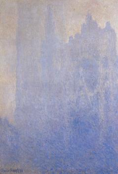 Claude Oscar Monet : Rouen Cathedral, Fog
