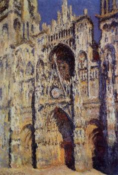 Claude Oscar Monet : Rouen Cathedral, Full Sunlight