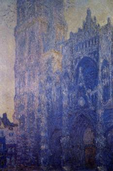 Claude Oscar Monet : Rouen Cathedral, Morning Effect