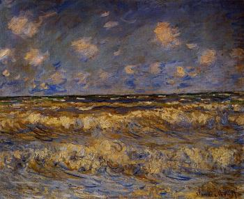 Claude Oscar Monet : Rough Sea