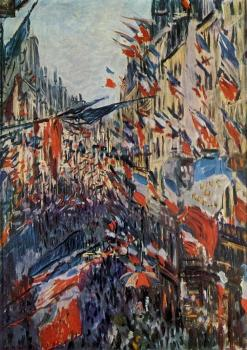 Claude Oscar Monet : Rue Saint-Denis, 30th of June 1878