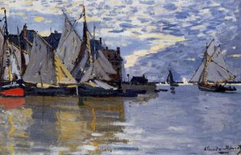 Claude Oscar Monet : Sailboats