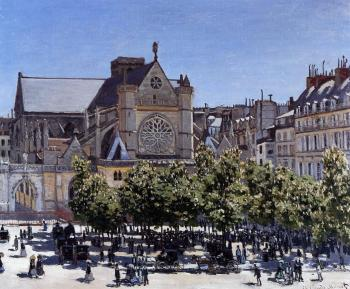 Claude Oscar Monet : Saint-Germain-l'Auxerrois