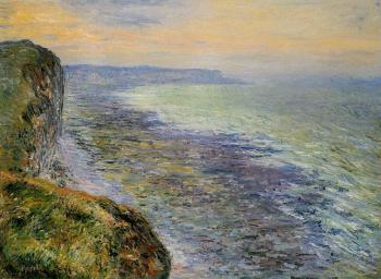 Claude Oscar Monet : Seascape near Fecamp