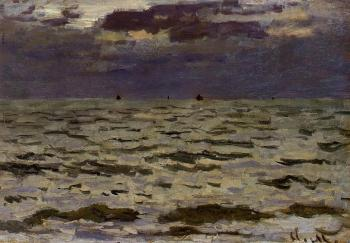 Claude Oscar Monet : Seascape