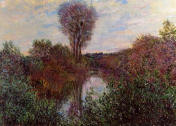 Claude Oscar Monet : Small Arm of the Seine at Mosseaux