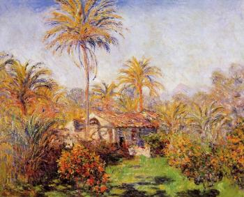 Claude Oscar Monet : Small Country Farm in Bordighera