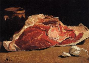 Claude Oscar Monet : Still Life with Meat