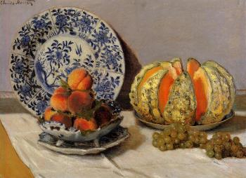 Claude Oscar Monet : Still Life with Melon II