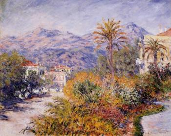 Claude Oscar Monet : Strada Romana in Bordighera