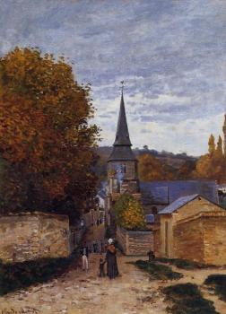 Claude Oscar Monet : Street in Sainte-Adresse