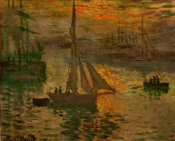 Claude Oscar Monet : Sunrise