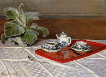 Claude Oscar Monet : Tea Set
