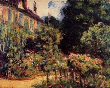 Claude Oscar Monet : The Artist's House at Giverny