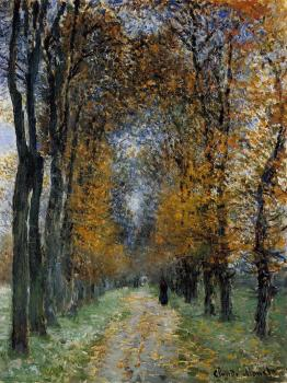 Claude Oscar Monet : The Avenue