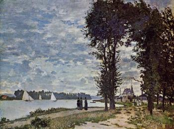 Claude Oscar Monet : The Banks of the Seine at Argenteuil
