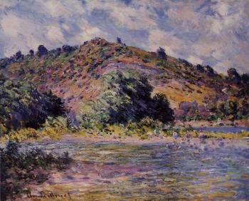 Claude Oscar Monet : The Banks of the Seine at Port-Villez