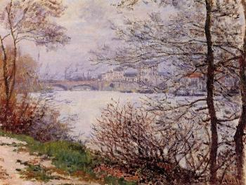 Claude Oscar Monet : The Banks of the Seine, Ile de la Grande-Jatte