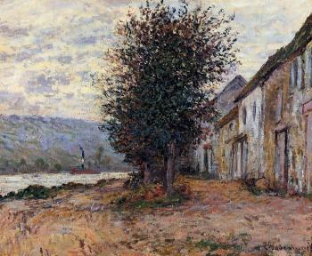 Claude Oscar Monet : The Banks of the Seine