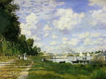 Claude Oscar Monet : The Basin at Argenteuil