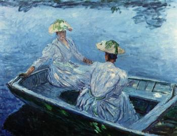Claude Oscar Monet : The Blue Row Boat