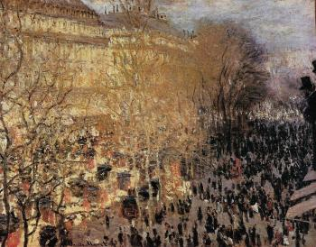 Claude Oscar Monet : The Boulevard des Capuchine