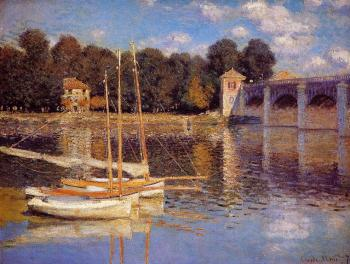 Claude Oscar Monet : The Bridge at Argenteuil