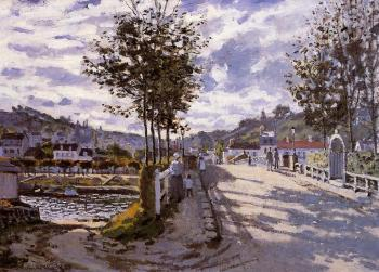 Claude Oscar Monet : The Bridge at Bougival