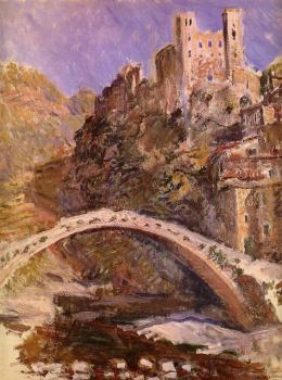 Claude Oscar Monet : The Castle at Dolceacqua
