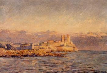 Claude Oscar Monet : The Castle in Antibes