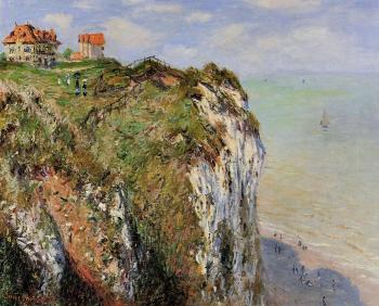 Claude Oscar Monet : The Cliff at Dieppe