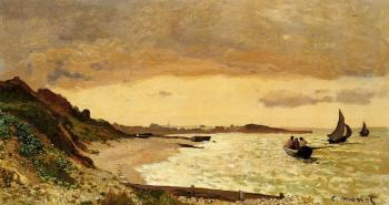 Claude Oscar Monet : The Coast at Sainte-Adresse