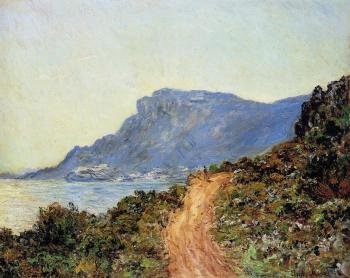 Claude Oscar Monet : The Corniche of Monaco