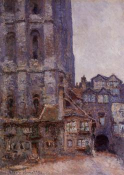Claude Oscar Monet : The Cour d'Albane, Grey Weather