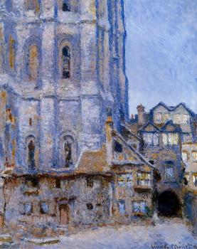 Claude Oscar Monet : The Cour d'Albane