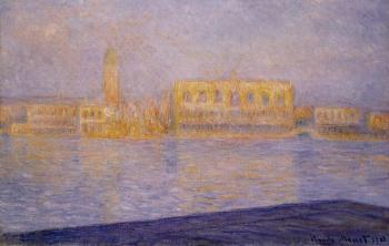 Claude Oscar Monet : The Doges' Palace Seen from San Giorgio Maggiore