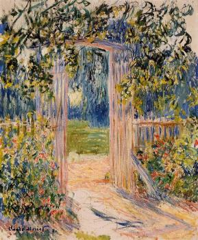 Claude Oscar Monet : The Garden Gate