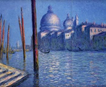Claude Oscar Monet : The Grand Canal II