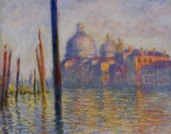 Claude Oscar Monet : The Grand Canal III