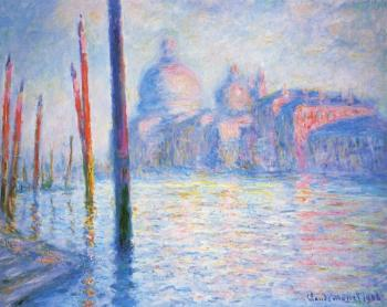 Claude Oscar Monet : The Grand Canal IV
